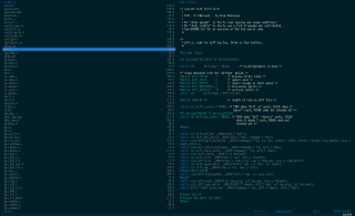 Vifm with dark solarized theme on OS X #1